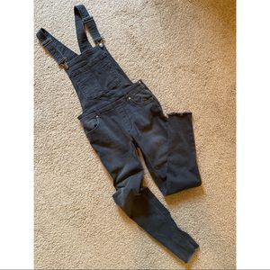 FREE PEOPLE | skinny overalls